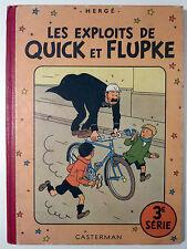 Hergé Quick et Flupke 3ème série Les exploits de Ed. Casterman TBE