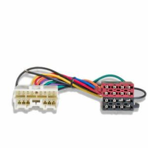ISO Radio / Stereo harness / adapter / wiring connector for Mitsubishi