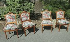4 Eastlake Chair 's antique Victorian - Delivery to most Destinations Available