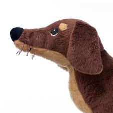 IKEA Hund SMASLUG Dackel Kuscheltier Plüschtier Stoffhund Spielzeug Småslug