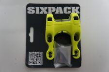 sixpack-racing KAMIKAZE Potence Direct Mount 31.8mm 25° JAUNE FLUO NEUF #864