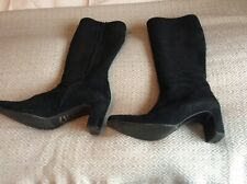 Ladies Suede Boots Size 6