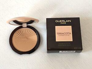 Guerlain Terracotta Summer Glow Golden Glow Powder Face Highlighter BRAND NEW