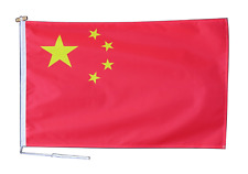 More details for china flag with rope and toggle - various sizes