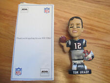 MBNA TOM BRADY #12 Bobble Head NEW ENGLAND PATRIOTS SGA