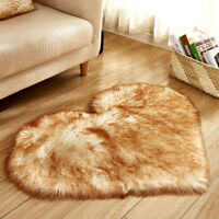 foot carpet Imitation Sheepskin Rugs Faux Fur Non Slip Bedroom Shaggy Carpet USA