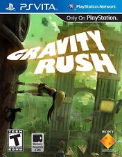 NEW Gravity Rush  (PlayStation Vita, 2012) PSVita NTSC