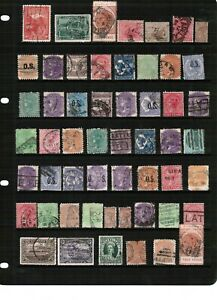 Australian States - Mixed selection of stamps from Australia States