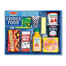 Melissa & Doug Wooden Fridge Food Set Mnd4076