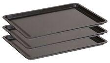 Premium Bakeware Non Stick Baking Trays Oven Sheets Roasting 3 PIECE SET