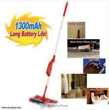 Electric Cordless 2nd Gen Quad Brush Floor Sweeper Swivel Head & Rechargeable