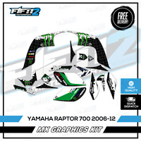 * Yamaha Raptor 700 placas Fender Etiquetas Insignias advertencia Acero 2013-2020