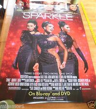 "Sparkle Whitney Houston Jordin Sparks DVD release OS poster 27x40"""