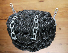 BUTTON ROPE FENDER FOR NARROWBOAT OR BARGE, NARROW BOAT, CANAL, STERN