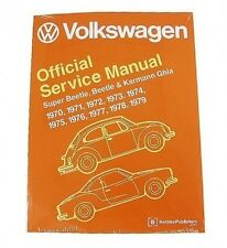 Volkswagen VW Super Beetle Karmann Ghia 1970-1979 Service Repair Manual Bentley