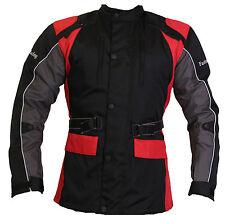"Fastman Racing Motorradjacke Textil ""Barcelona"" Alle Wetter Atmungaktive Neu"