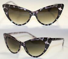 Cat Eye Sonnenbrille Pinup 50er Jahre z. Petticoat Rockabilly Tortoise Leo  546