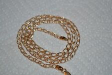 14k Solid Yellow  Gold Necklace Gold Weight- 5.05g Free Shipping!
