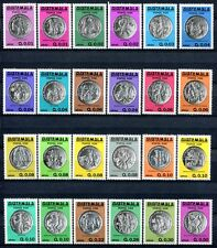 Guatemala 1981 Popol Vuh Heiliges Buch Quiche Indianer Indians 1166-1189 MNH