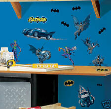 Batman Wall Decor 2 Borders Applique set & Large Mural!