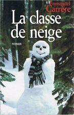 EMMANUEL CARRERE La classe de neige +  PARIS POSTER GUIDE