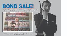 James Bond 007 OST Music Cassette Tape Individually Sold