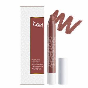 Kay Beauty Matteinee Lip Crayon - Faux Pas (1.8gm)