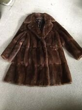 three quarter mink coat