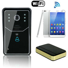Smart Wireless WiFi Video IR Camera Door Phone Doorbell Intercom Security Kit US
