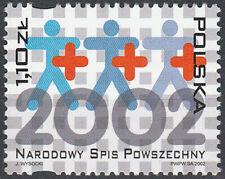 Poland 2002 - National Census - Fi 3819 MNH**