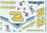 Monogram Revell 1:24 #3 Wrangler Grand Prix Stock Car Decal Sheet #6298U
