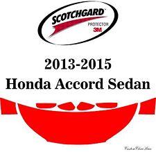 3M Scotchgard Paint Protection Film Clear Pre-Cut Fits 2015 Honda Accord Sedan