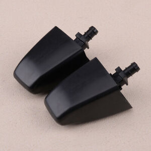 Pair Headlight Washer Sprayer Nozzle Jet fit for Toyota Land Cruiser 100 98-2007
