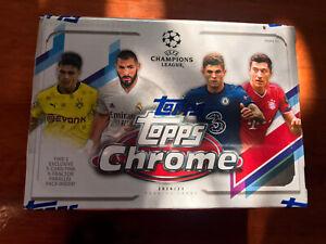2020-21 Topps Chrome Soccer UEFA Champions League Blaster Box IN HAND