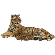 Papo Wild Animal Kingdom Lying Tigress Nursing Collectable Animal Figure 50156