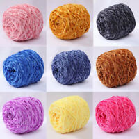 Yarn Chunky Crochet Chenille Milk Baby Velvet Knitting Wool DIY Sweater Scarf