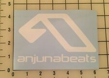 "Anjunabeats 6"" Wide White Vinyl Decal Sticker - Free Shipping"