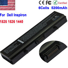 New Laptop Battery for Dell Inspiron 1525 1526 1440 1545 1546 1750 GW240 6 Cell
