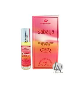 SABAYA - Al Rehab 6ml Fragrance Alcohol-free Halal Attar Roll-on Perfume Oil