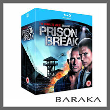 Prison Break Complete Season Series 1, 2, 3 & 4 + Final break Blu ray RB Box Set
