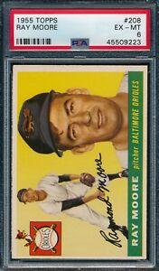 1955 Topps Set Break # 208 Ray Moore PSA 6 *OBGcards*