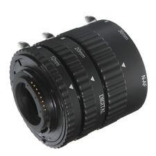 Auto Focus Macro Extension Tube Ring Set 12mm 20mm 36mm For Nikon AF Camera Lens