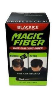 Black Ice Professional Magic fibers, lock spray, spray application