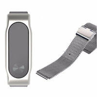 For Xiaomi Mi Band 2 Strap Bracelet Replacement Stainless Steel Metal Wristband