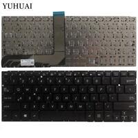 FOR ASUS TP300 TP300L TP300LD Q302 Q302LA Q304 TP300LA English black Keyboard