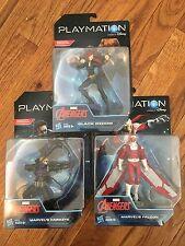 Hasbro Playmation Marvel Avengers NEW Black Widow/ Hawkeye/Falcon Smart Figure