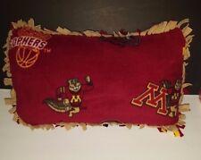 NEW Minnesota Gophers Fleece Lounge Pillow
