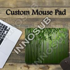 "Bamboo Hipster Art Custom Cool Mouse Pad 1/8"" thick-7.75""x9.25"" Gaming Mousepad"