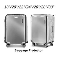 Transparent Suitcase Cover Travel PVC Luggage Protector 20''22''24''26''28Bag·