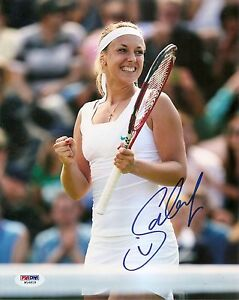Sabine Lisicki Germany Tennis Signed Auto 8x10 PHOTO PSA/DNA COA